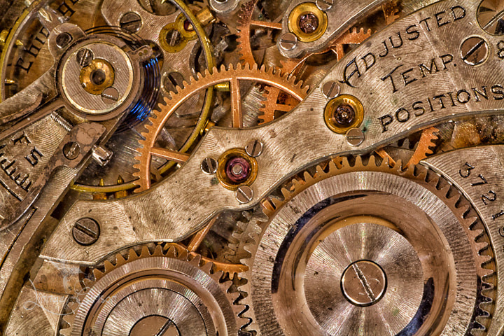 Photograph A Cog in Time by Linnae Carlson on 500px