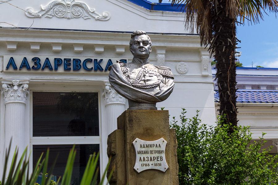 Памятник адмиралу Лазареву, автор — Andrei Butorin на 500px.com