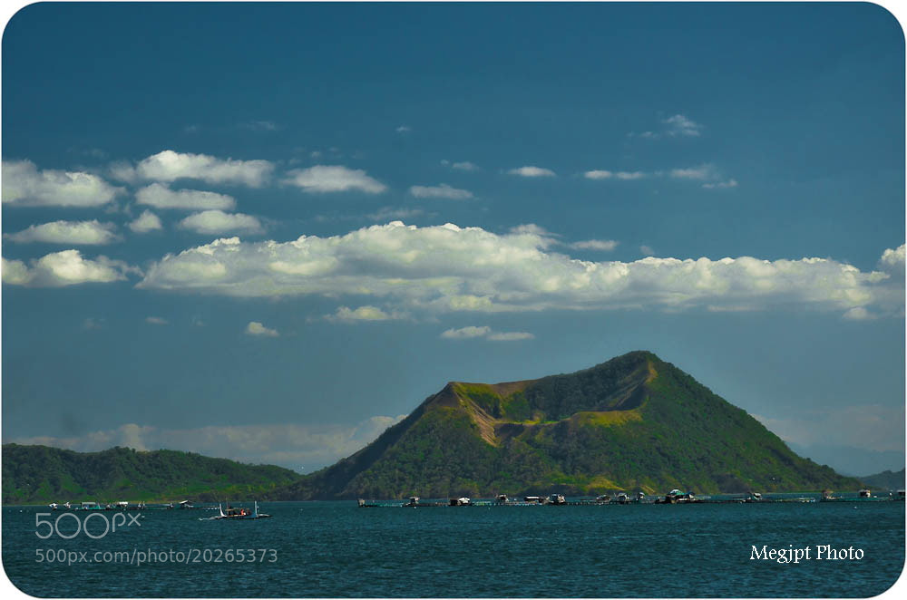 Photograph Taal Lake.......Philippines by John Tajan on 500px
