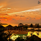 Постер, плакат: Majestic sunset @ The Empire Hotel and Country Club Brunei