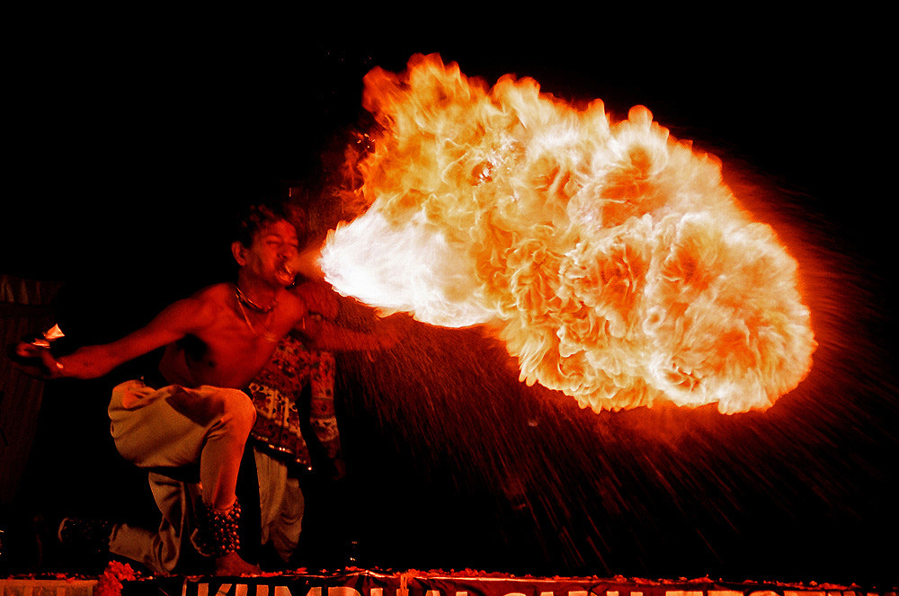 Photograph The Fire Ball  by Sharad Agrawal on 500px