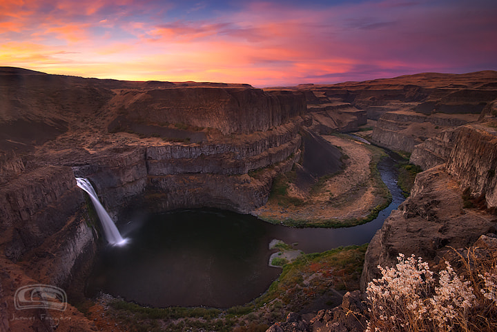 """Photograph """"KEYHOLE FALLS"""" by James Fougere on 500px"""