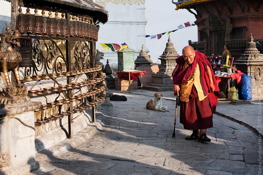Buddhist roundabout| Буддийская кора