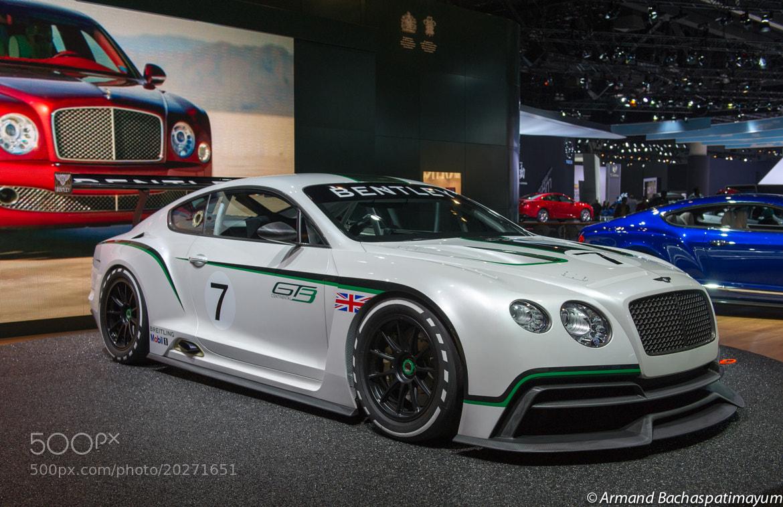 Photograph Bentley GT3 by Armand Bachaspatimayum on 500px