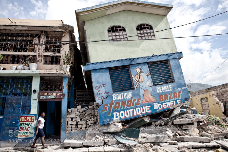 Earthquake damage by Robin Moore (robinmoore) on 500px.com