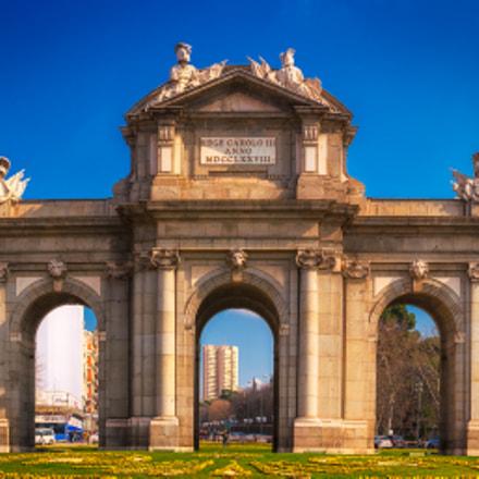 Madrid: Puerta de Alcalá