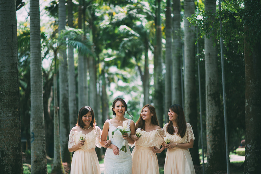 Moment with Bridemaids
