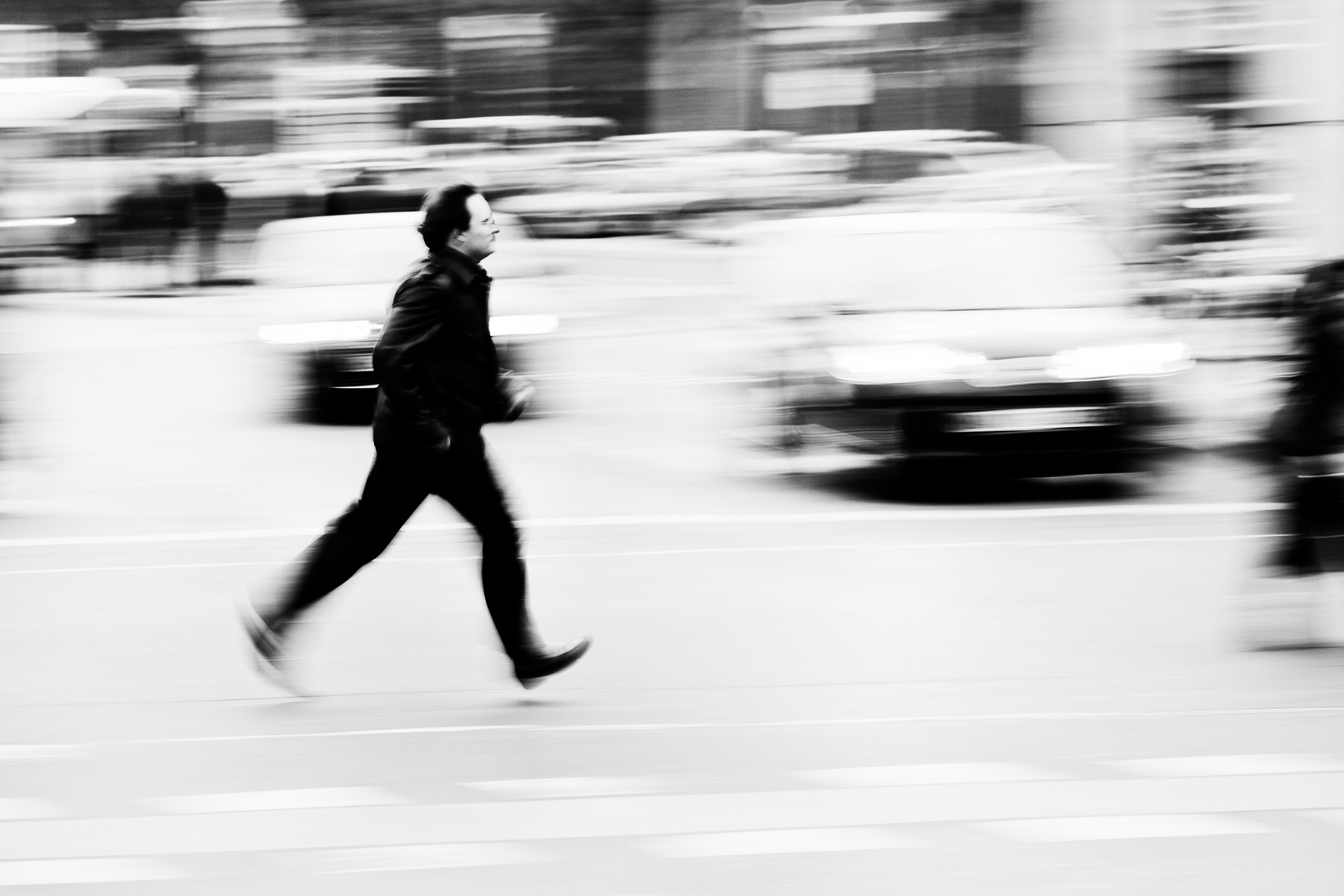 Photograph city runner by Christian Müller on 500px
