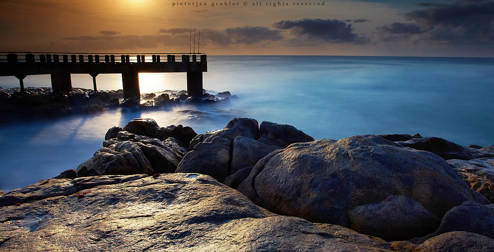 Photograph Into the Blue by Pieterjan Grobler on 500px