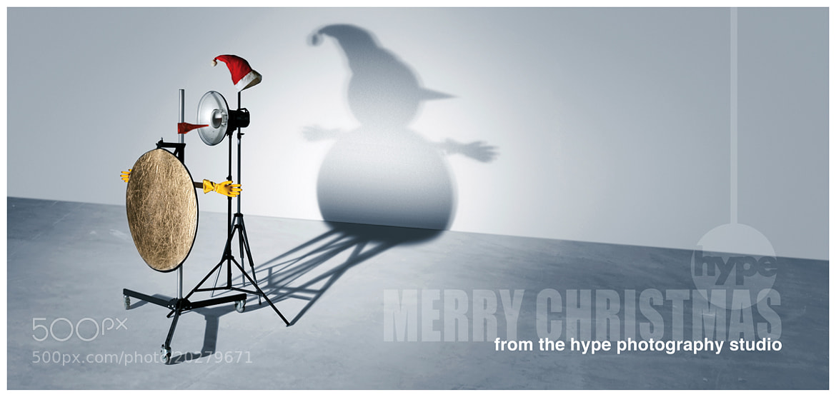 Photograph Happy Christmas From Hype by Stuart Freeman on 500px