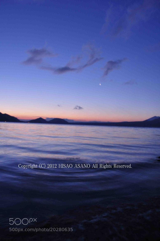 Photograph Early morning of Lake Shikotsu/Hokkaido/Japan by Hisao Asano on 500px