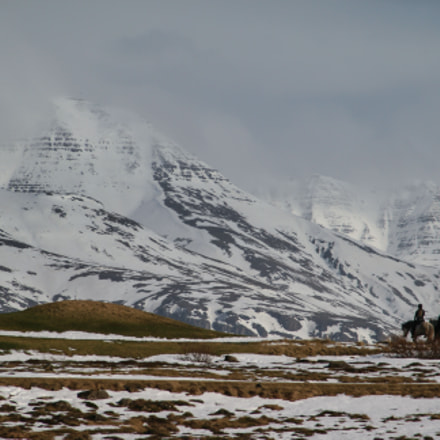 Winter in Iceland, Canon EOS 400D DIGITAL, Canon EF 55-200mm f/4.5-5.6 II USM