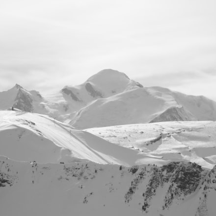 Mont Blanc, Canon EOS 550D, Canon EF 90-300mm f/4.5-5.6