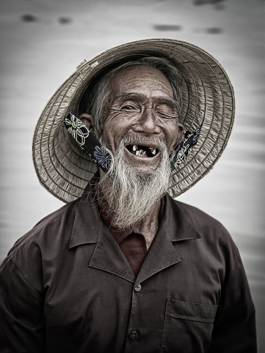 Photograph A Big Toothless Smile by Cameron   on 500px