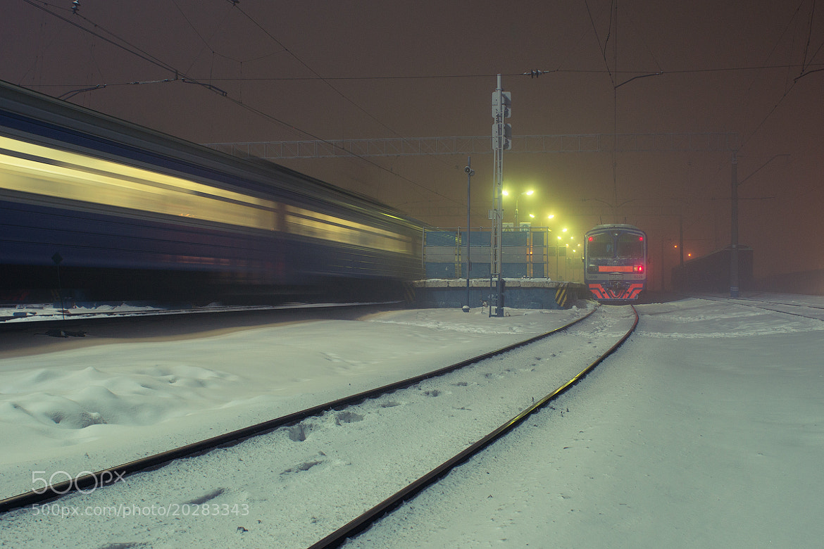 Photograph Midnight station by Sergey Pekker on 500px