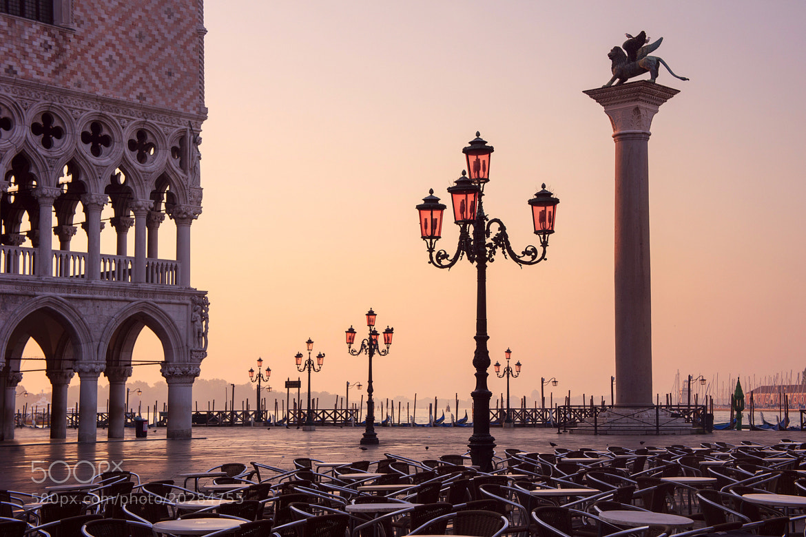 Photograph Sunrise over Piazzetta di San Marco by Sergey Kuznetsov on 500px