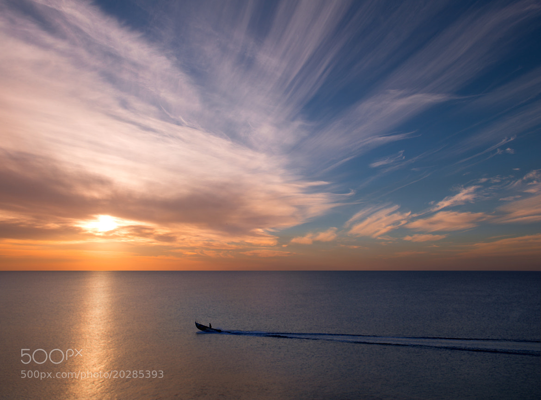 Photograph Sunset Trails by Natasha Pnini on 500px