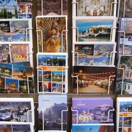Postkarten - Postcards, Panasonic DMC-FX55