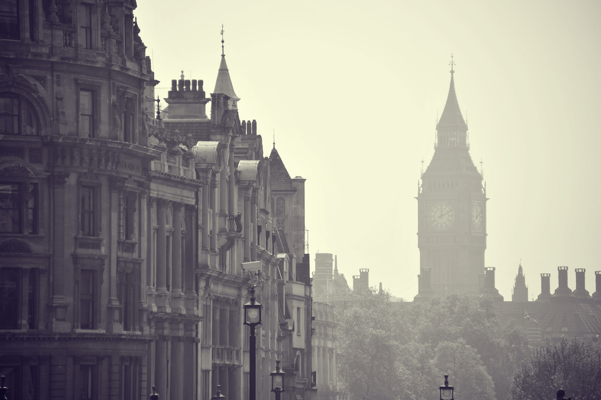 Photograph Foggy London by Bryan Leung on 500px