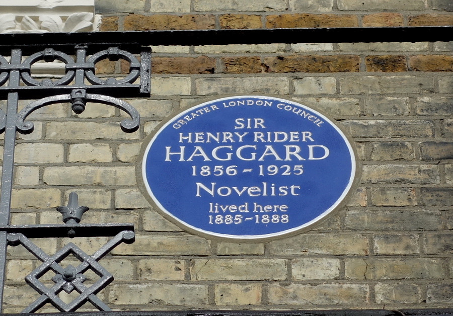 Sir Henry Rider Haggard in London by Sandra on 500px.com