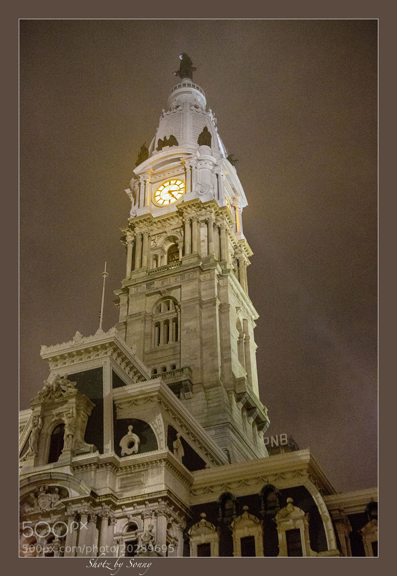 Photograph City Hall, Phila. PA by Sonny Hamauchi on 500px