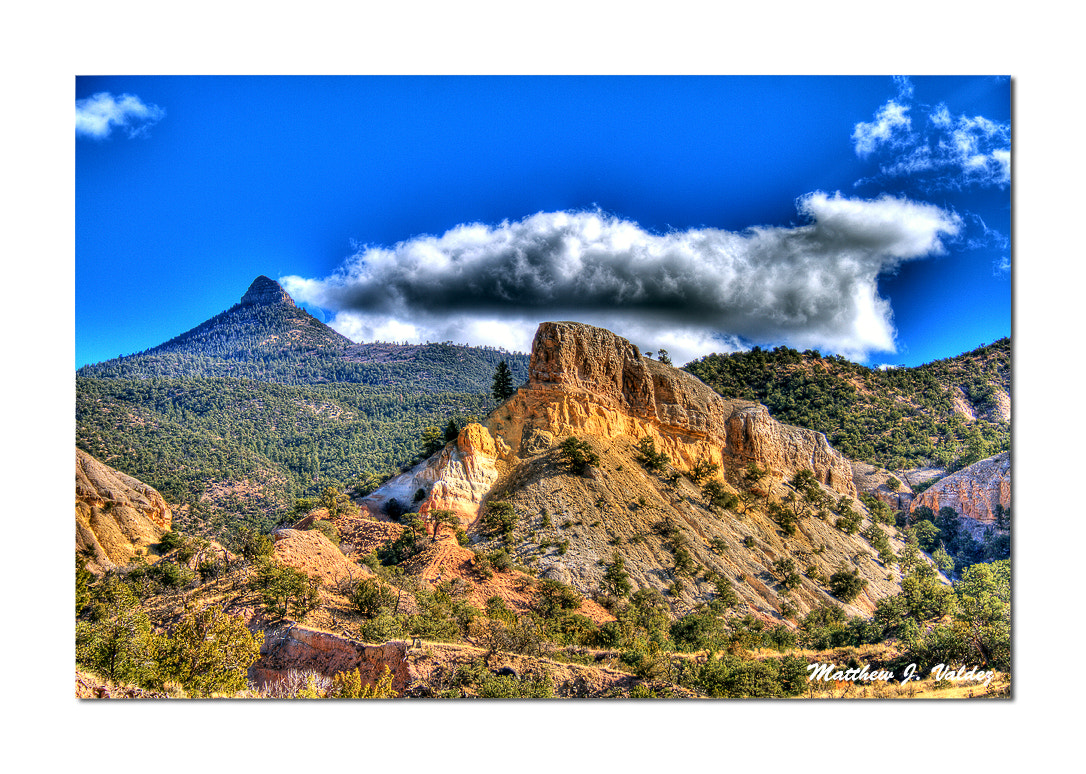 Photograph Mesa Perdenal from Youngsville, NM by Matthew J.  Valdez on 500px