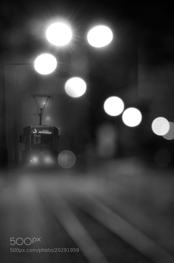 Photograph The Midnight Tram by Magdalena Narloch on 500px