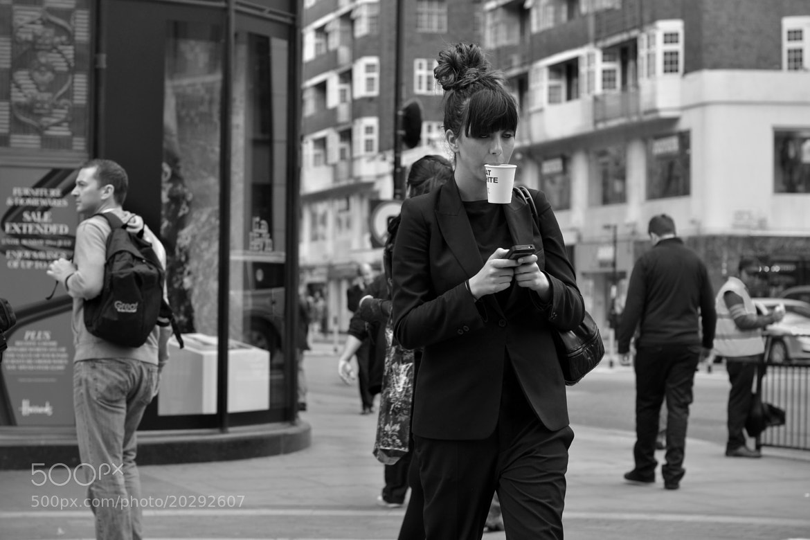 Photograph The texting zombie by Chris W on 500px