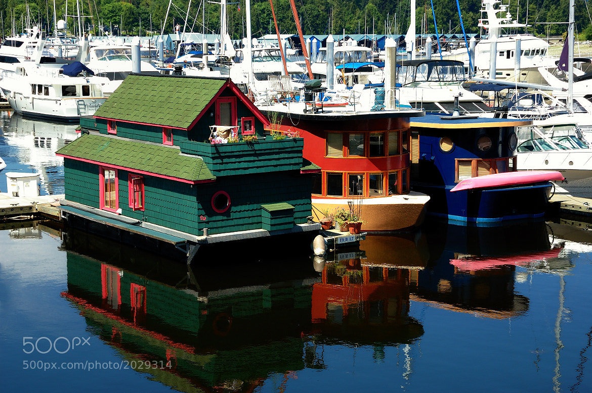 Photograph Houseboat by Christian Kratochvila on 500px