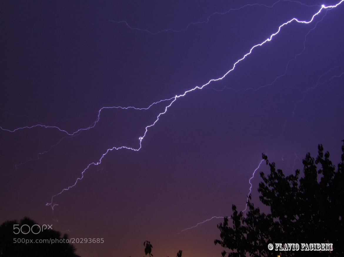 Photograph lightning by flavio facibeni on 500px