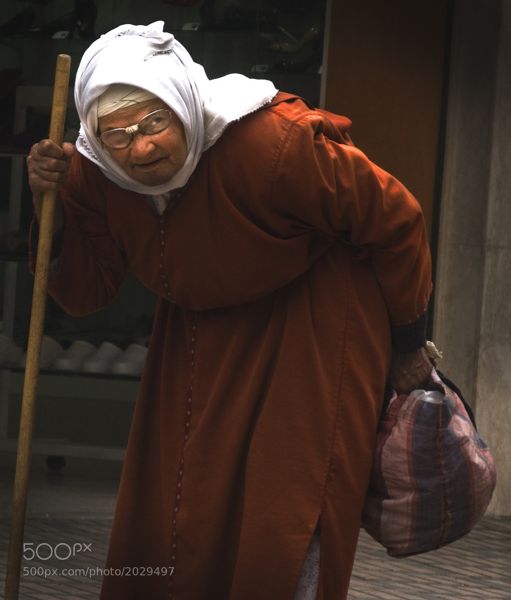 Photograph Old Lady by Howard Allman on 500px