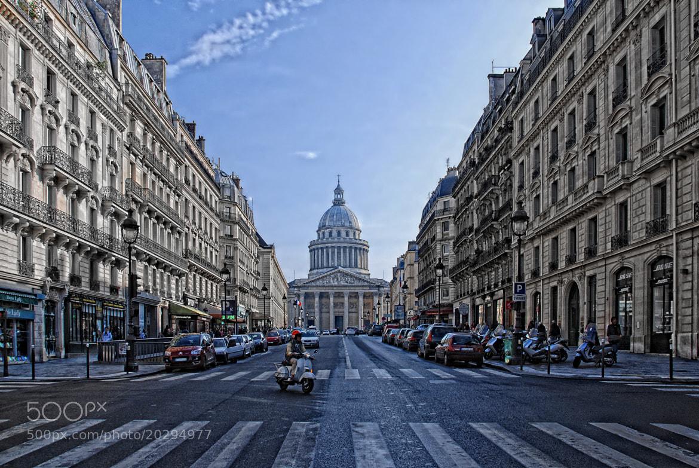 Photograph road to the Pantheon by Joachim G.  Pinkawa on 500px