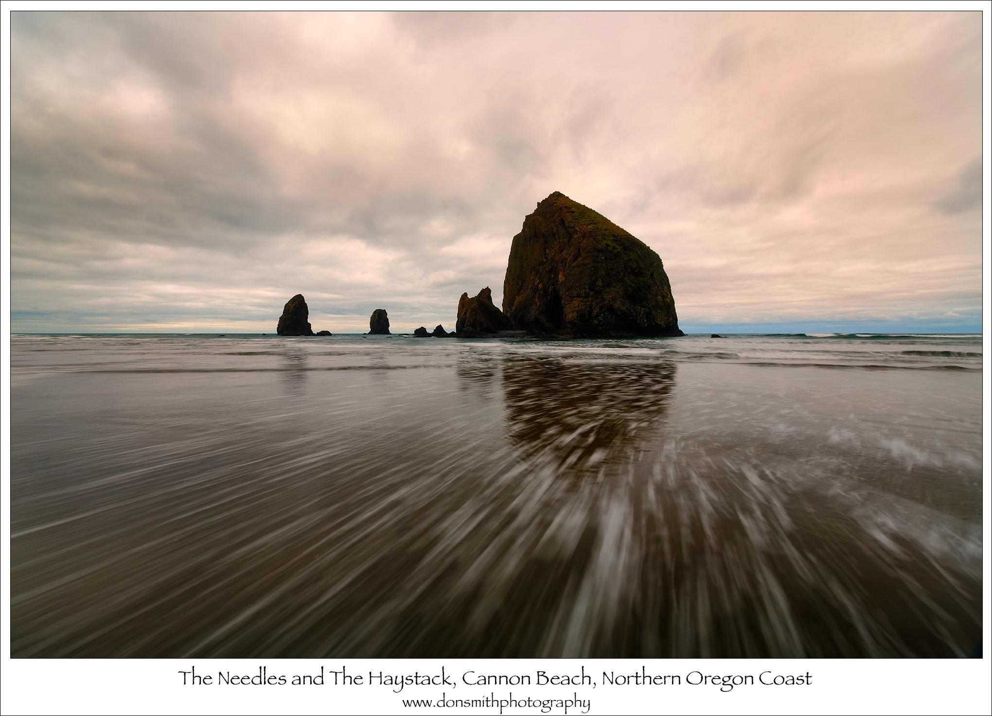 Photograph Dawn, Cannon Beach, Northern Oregon by Don Smith on 500px