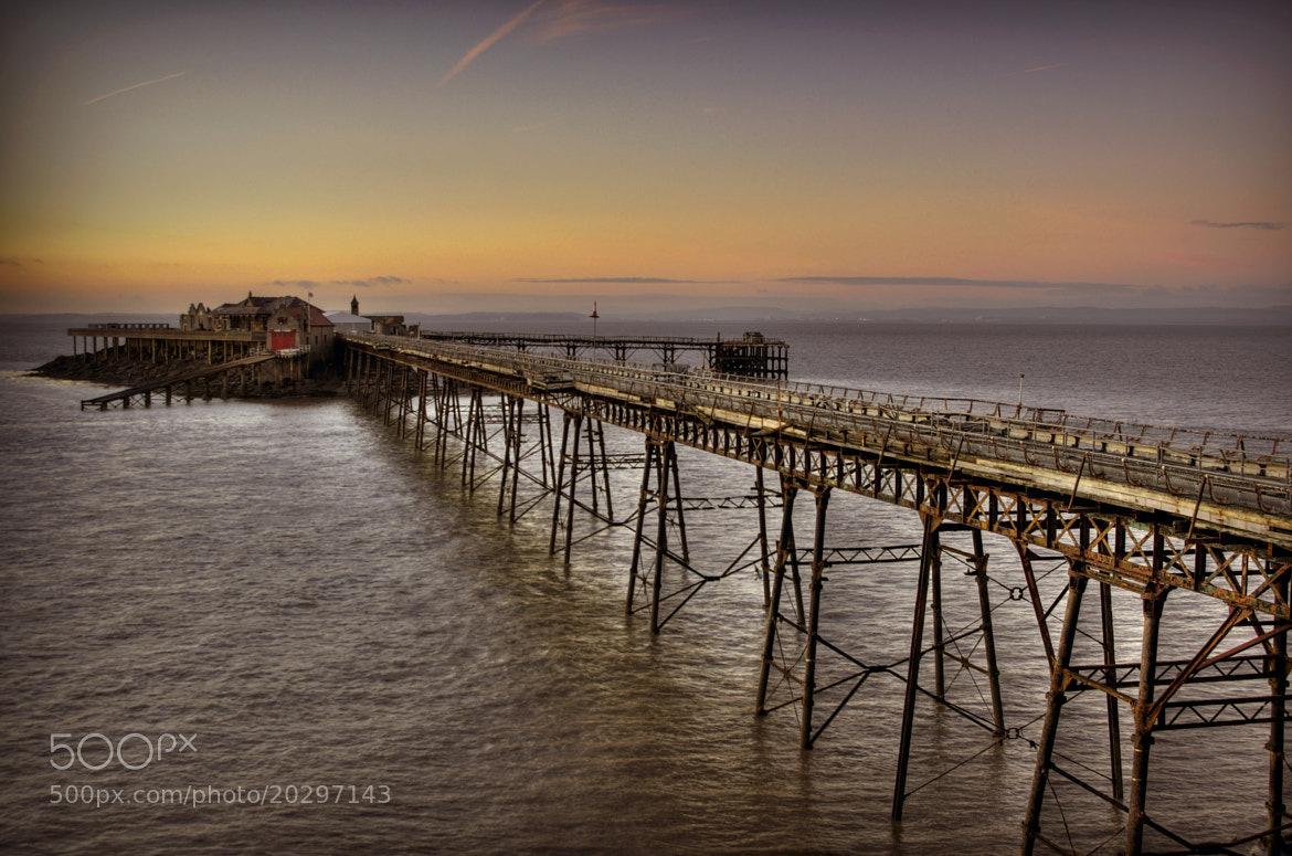 Photograph Derelict Weston Pier by Jack Sivyer on 500px