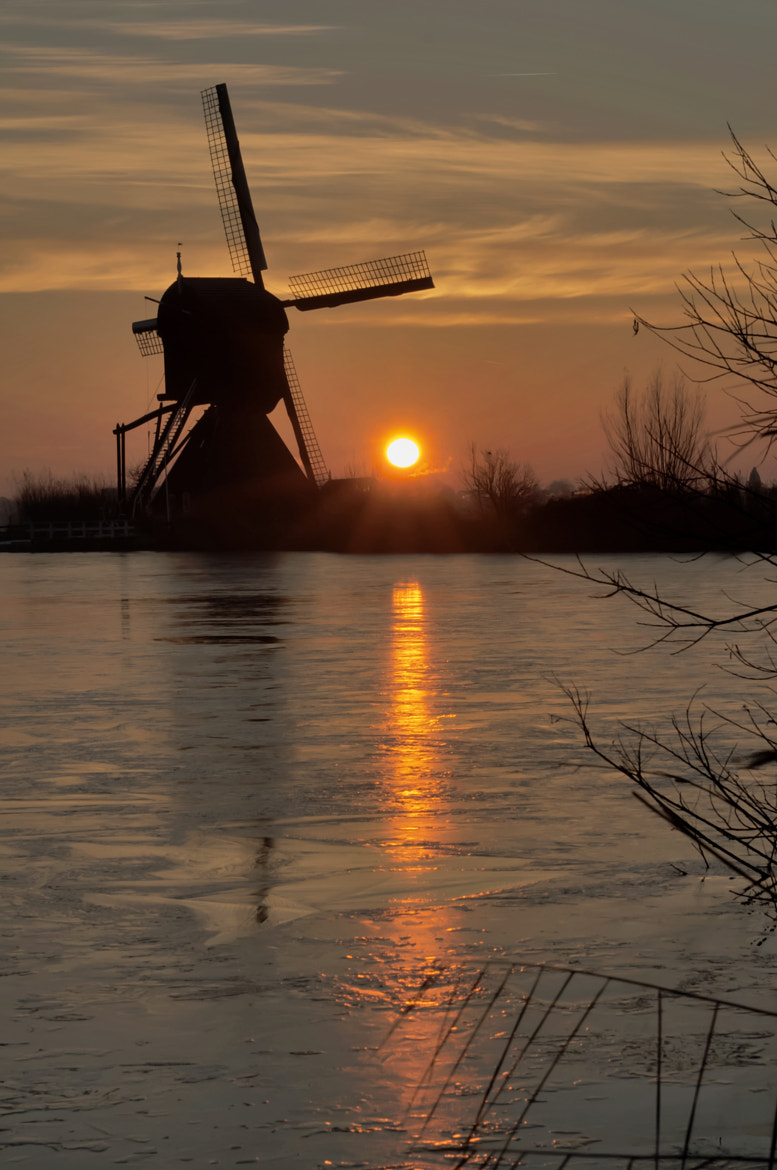 Photograph Sunrise at Kinderdijk by Guy Burgerhout on 500px