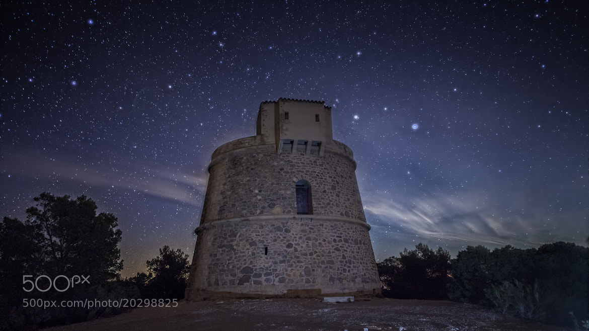 Photograph Tower + Stars by Alejandro Iborra on 500px
