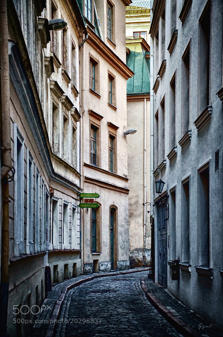 Photograph Old Town Street by Gynt S on 500px
