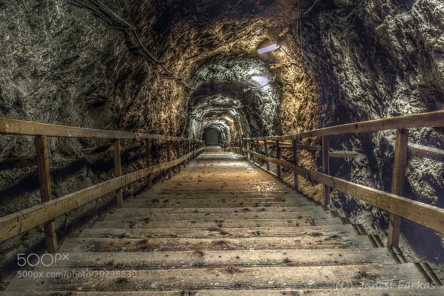 Photograph Parajd salt mine entrance HDR by Jancsi Farkas on 500px