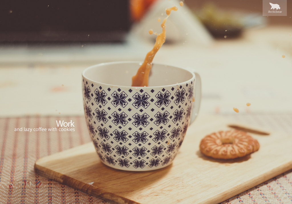 Photograph Work and lazy coffee with cookies by Serge Kryukov on 500px