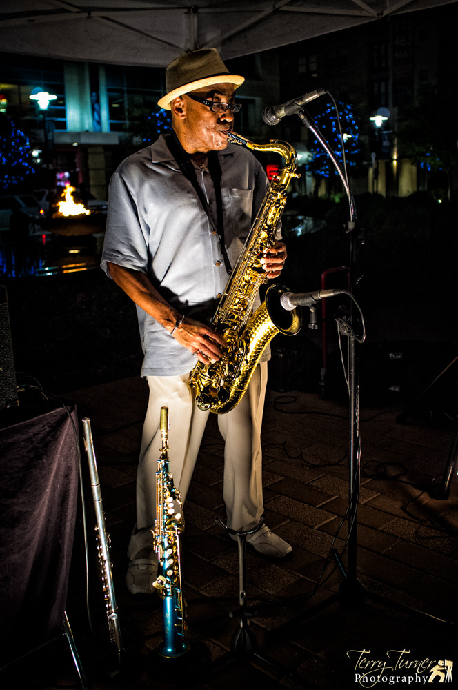 Photograph Playing the Sax by Terry Turner on 500px
