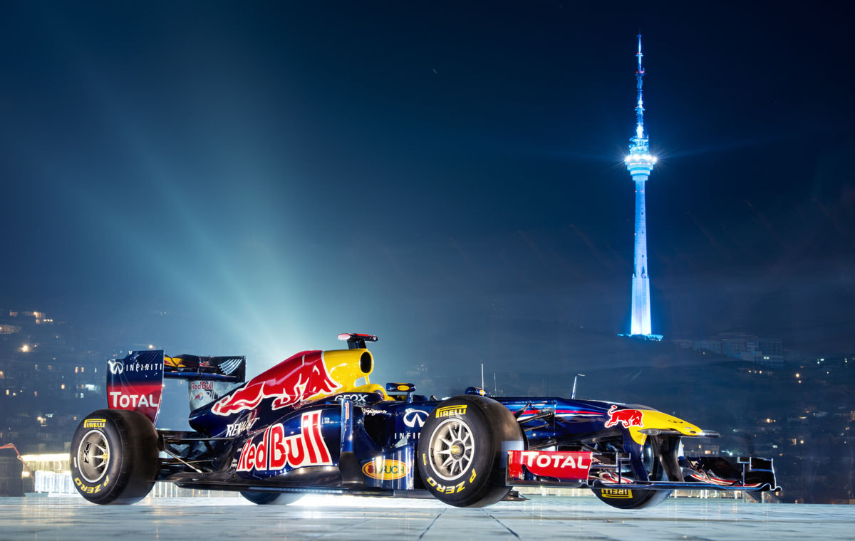 Photograph F1 RB7 car in Baku by daniel vojtech on 500px