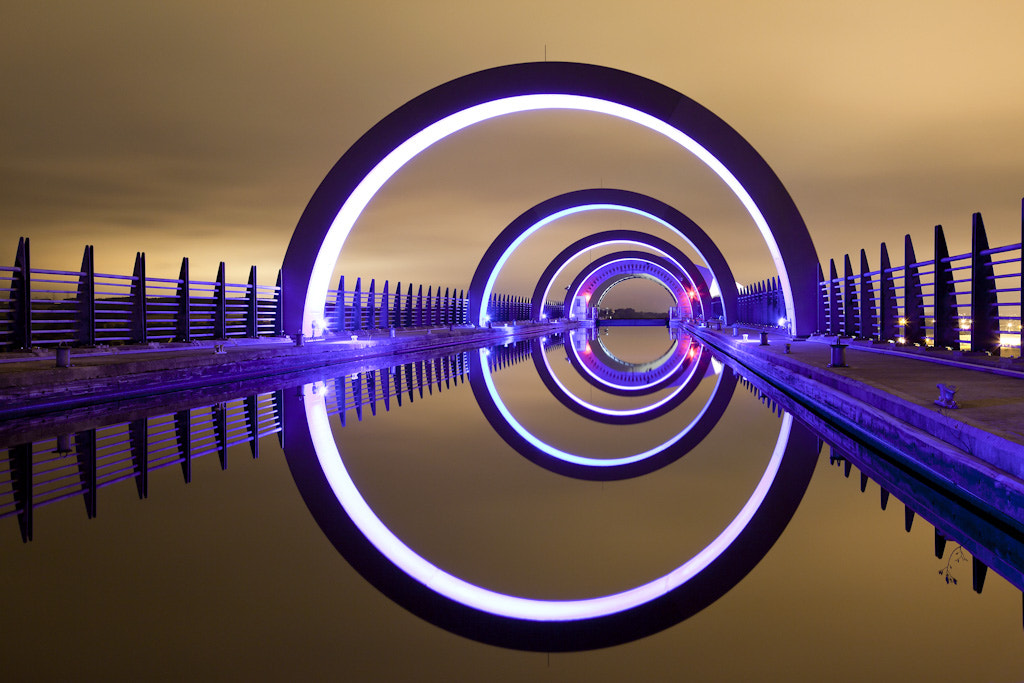 Photograph The Falkirk Wheel by Phil Mack on 500px