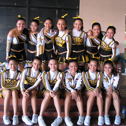 Poveda Cheerleading Team, Canon POWERSHOT G5