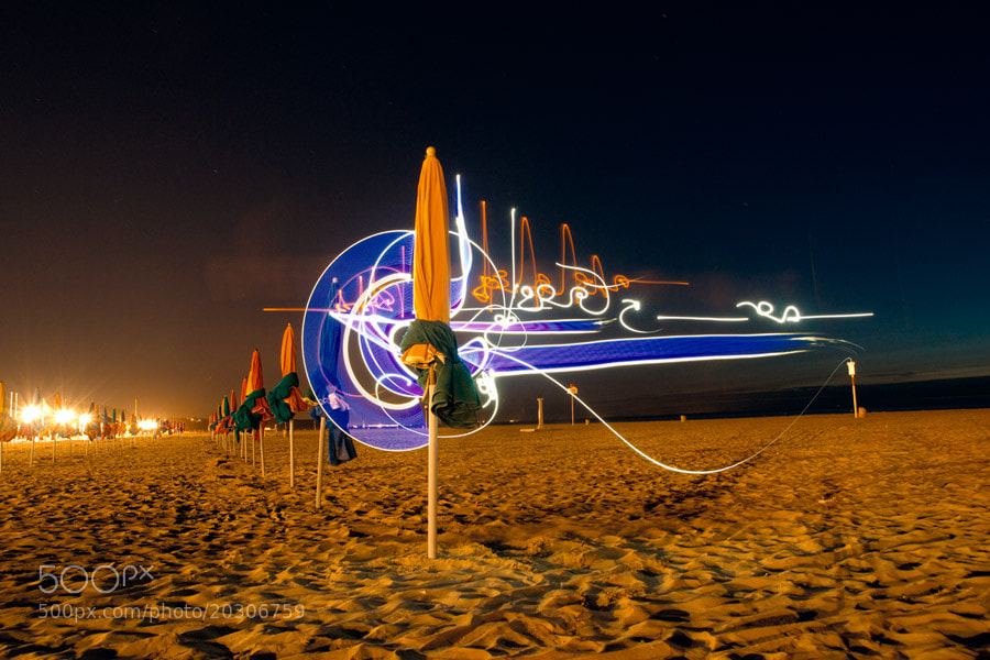 Photograph Deauville by Marko Light-painting on 500px
