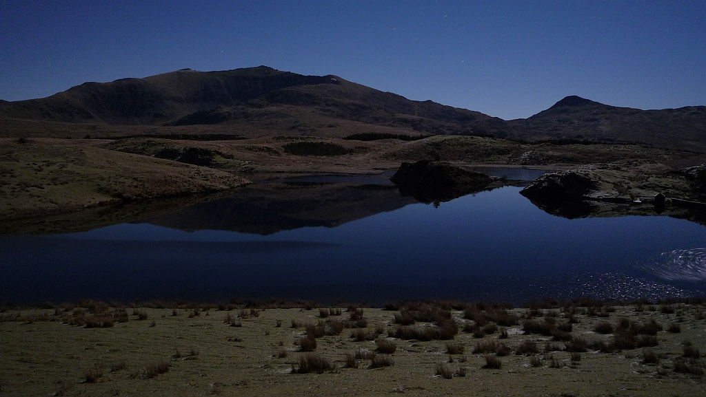 Photograph Snowdon in the moonlight by Zofia Liput on 500px