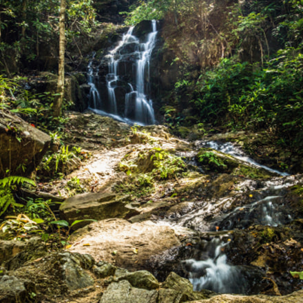 Waterfall Thailand Phuket, Canon EOS 70D, Canon EF 17-40mm f/4L USM