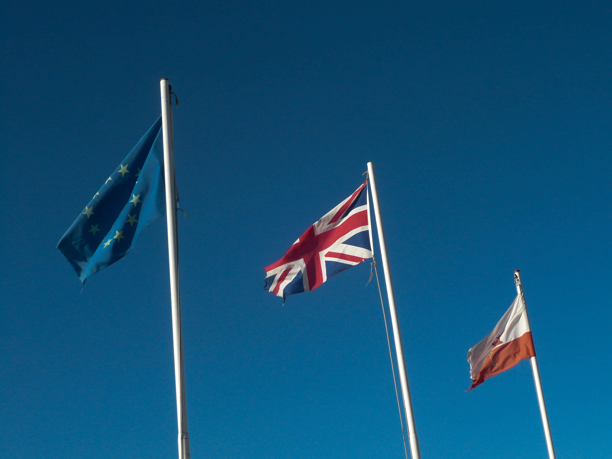Photograph Flags of Gibraltar by James Inman on 500px