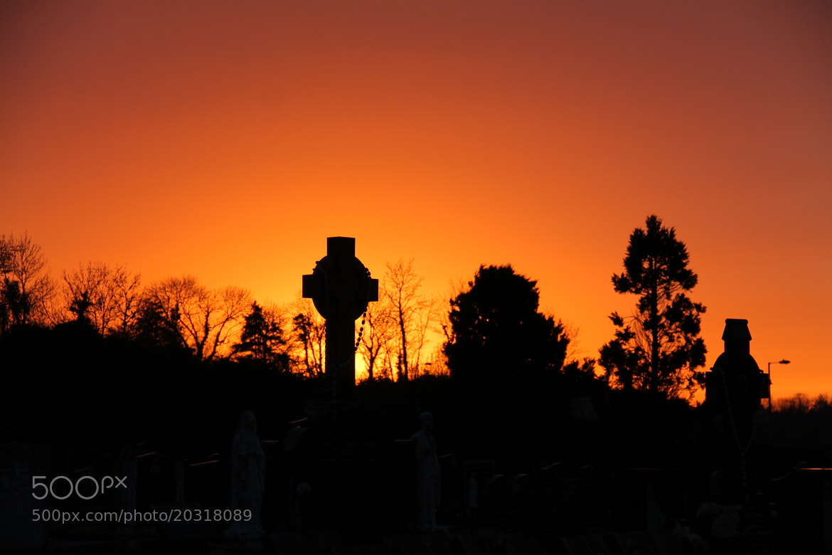 Photograph Grave Fiery Sunset by Damian Smith on 500px