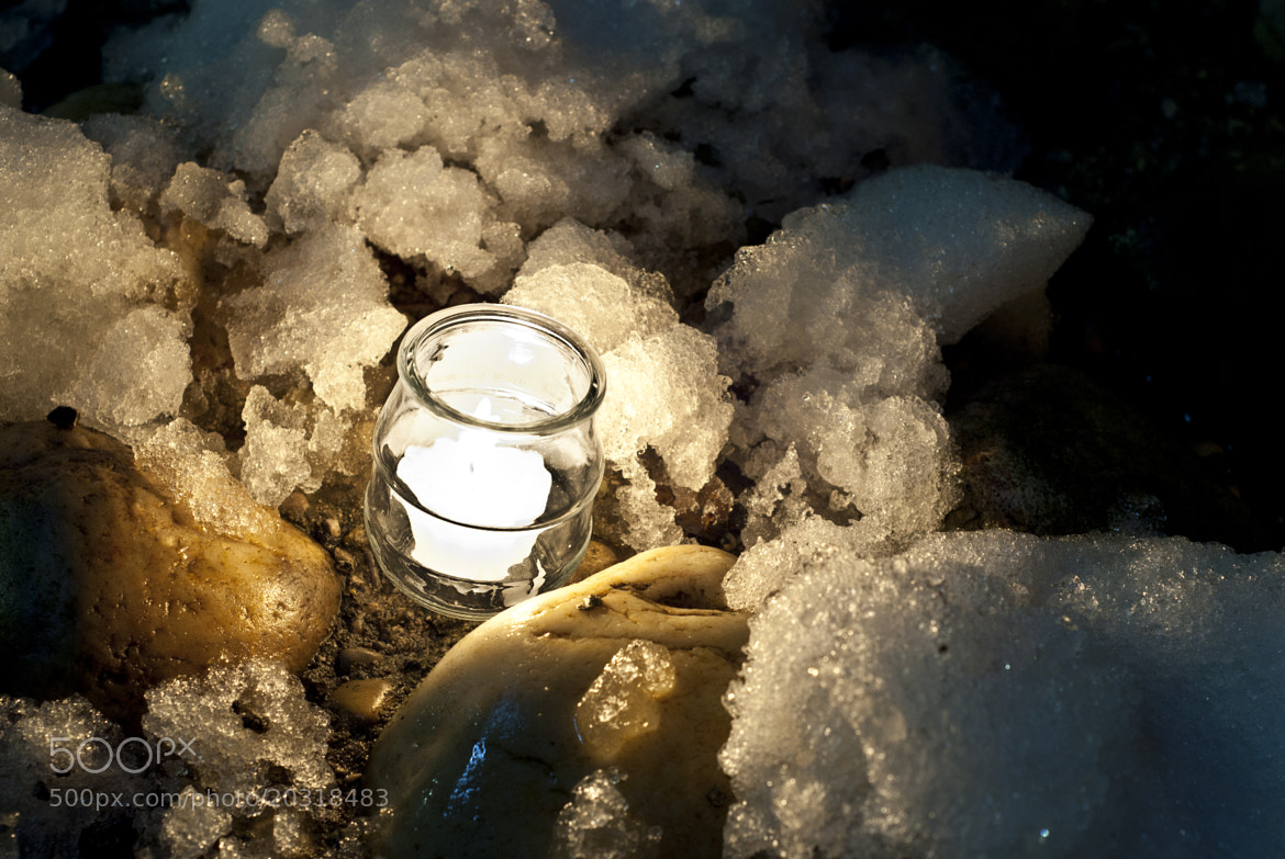 Photograph snow candle by Jules Marragou on 500px