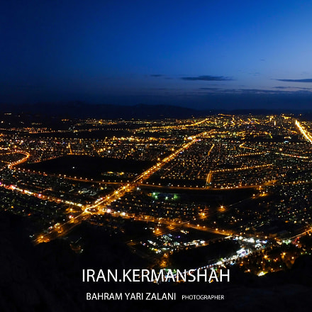 city kermanshah, Fujifilm FinePix HS55EXR
